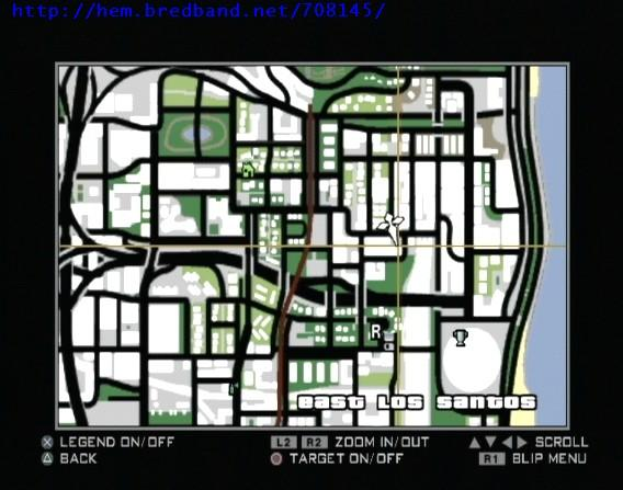 GTA San Andreas : Les huîtres, fers à cheval, tags, photos